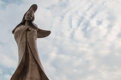 澳门,中国- Feburary第28 2016年:库恩Iam雕象雕象  库存图片