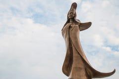 澳门,中国- Feburary第28 2016年:库恩Iam雕象雕象  免版税库存图片