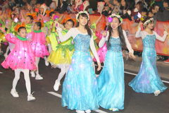澳门:农历新年庆祝2015年 免版税库存图片