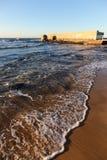 澳洲贝壳漏洞新堡 库存照片