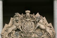 澳洲大厅悉尼城镇 库存图片