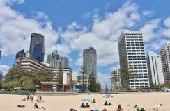 澳洲天堂冲浪者 免版税库存图片