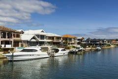 澳洲居住现代 免版税库存图片