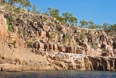 澳洲峡谷凯瑟琳 免版税库存照片