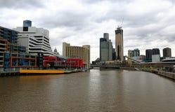 澳洲市墨尔本 免版税库存图片