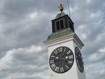 澳洲市时钟大厅找出珀斯西部塔的城镇 免版税库存照片