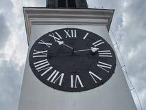 澳洲市时钟大厅找出珀斯西部塔的城镇 库存照片