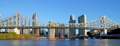 澳洲桥梁布里斯班故事 免版税库存照片