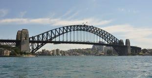 澳洲桥梁港口新的南悉尼视图威尔士 库存图片