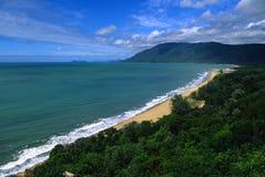 澳洲海岸线昆士兰 库存图片