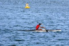 澳洲海岸金子昆士兰 免版税图库摄影