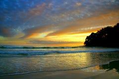 澳洲海岸阳光 免版税图库摄影