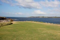 澳洲海湾植物学入口 免版税库存照片