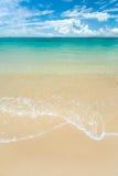 澳洲海滩 免版税库存照片