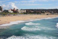 澳洲海滩bondi 库存图片