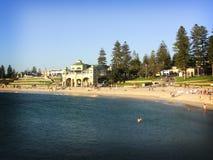 澳洲海滩cottesloe西部的珀斯 图库摄影