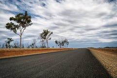 澳洲路 免版税图库摄影