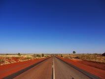澳洲高速公路路 免版税库存照片
