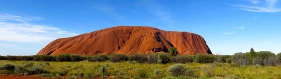 澳洲ayers北岩石领土 库存照片