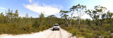 澳洲fraser海岛昆士兰 免版税图库摄影