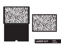 激光从草的裁减模板 免版税库存图片