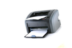 激光打印机 免版税库存照片
