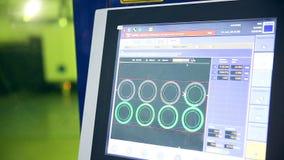 激光机器人metallcutter经营与metall 屏幕显示参量 股票视频