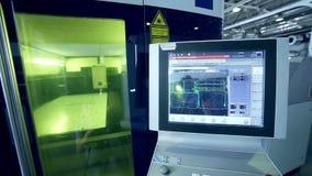 激光机器人metallcutter经营与metall 股票视频