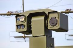 激光测距器 免版税图库摄影