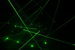 激光线照明设备 图库摄影