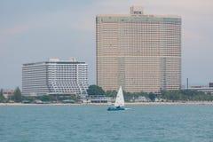 激光类船航行 免版税库存照片