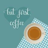 激动人心的咖啡行情 图库摄影