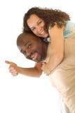 激动的夫妇 免版税图库摄影
