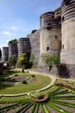 激怒城堡法国 库存图片