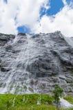 瀑布七姐妹,挪威 库存照片