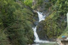 瀑布和能量 库存图片