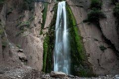 瀑布和难归类的物 免版税库存图片