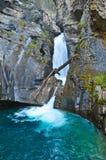 瀑布和水池 库存图片