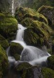 瀑布和Riverflow 库存图片