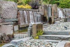 瀑布喷泉10 库存图片