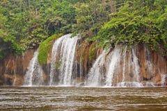 瀑布在亚洲泰国 库存照片