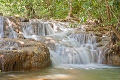 瀑布在亚洲泰国 库存图片