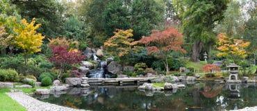 瀑布在伦敦在秋天 图库摄影