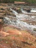 瀑布在俄克拉何马 免版税库存照片