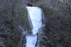 瀑布在俄勒冈 库存图片