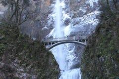 瀑布在俄勒冈 免版税图库摄影