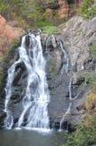 瀑布在公园 图库摄影