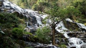 瀑布在北泰国 免版税库存图片