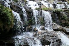 瀑布在北泰国 免版税图库摄影