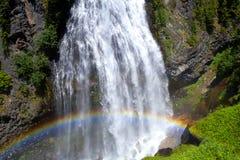 瀑布在华盛顿州 免版税库存图片